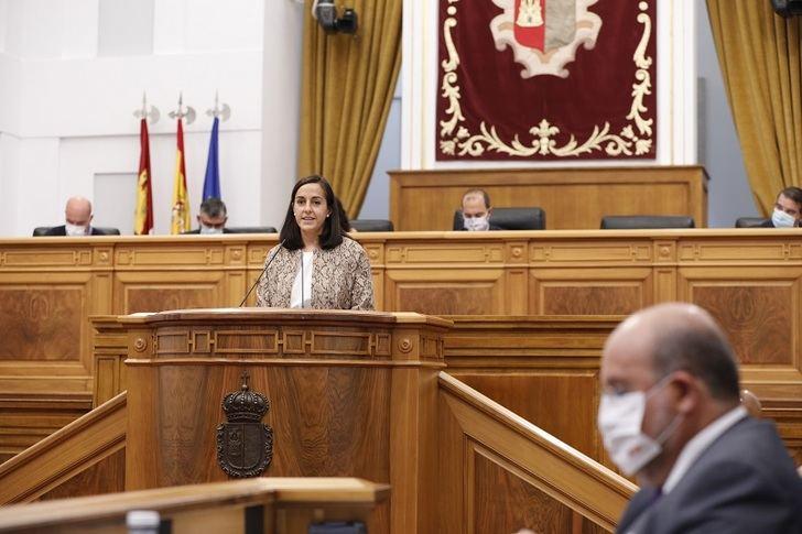 Pleno. Guijarro presume de los 1.400 millones que Estado y Junta invertirán en infraestructuras en 2022 en Castilla-La Mancha