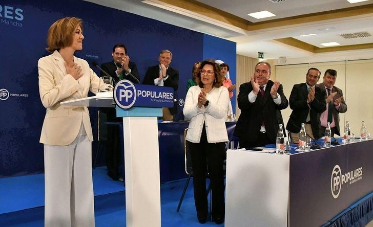 Cospedal anuncia su candidatura para presidir el PP