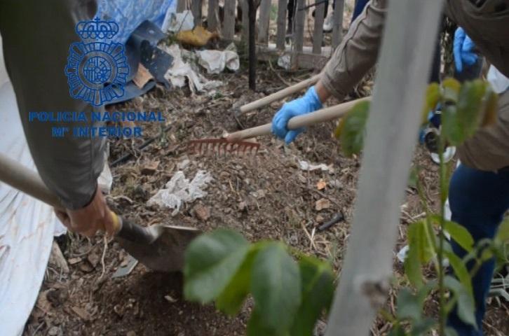 Los restos del asesinado los encontró la Policía en Viveros.