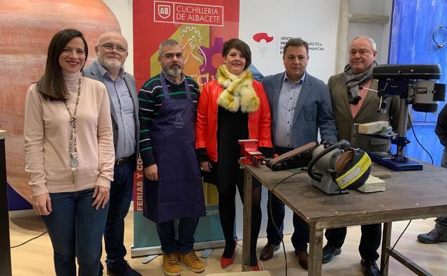 La cuchillería de Albacete se promociona también en Madrid