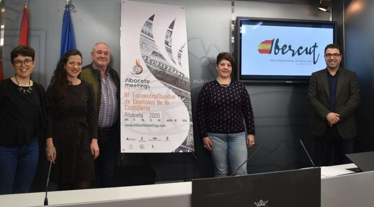 'Ibercut', nueva marca de la Feria de Cuchillería de Albacete, para una undécima edición del Encuentro Mundial