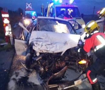 Dos personas trasladadas al Virgen de la Luz tras sufrir un accidente de tráfico en Chillaron de Cuenca