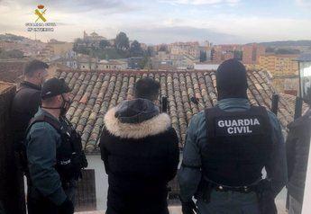 La Guardia Civil de Cuenca desarticula un grupo criminal dedicado al tráfico de drogas y detiene a 17 personas