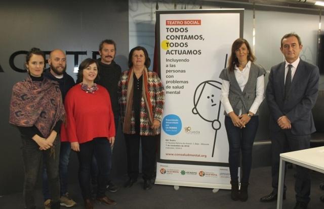 Apoyo municipal a Afaeps en Albacete, que prepara la obra de teatro 'Todos contamos, todos actuamos'