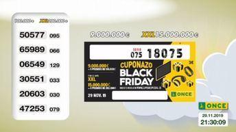 El 'Cuponazo' de la ONCE del Black Friday reparte más de 11 millones de euros en Socuéllamos (Ciudad Real)