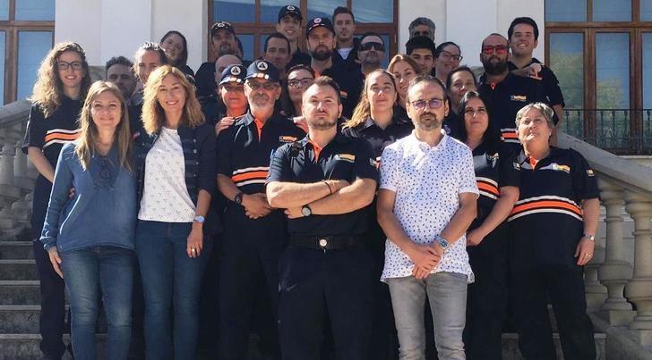 26 voluntarios de 7 Agrupaciones de Protección Civil de la provincia de Albacete reciben el Curso Básico DEA
