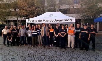 La Junta forma a voluntarios de varias localidades sobre los grupos de apoyo logístico