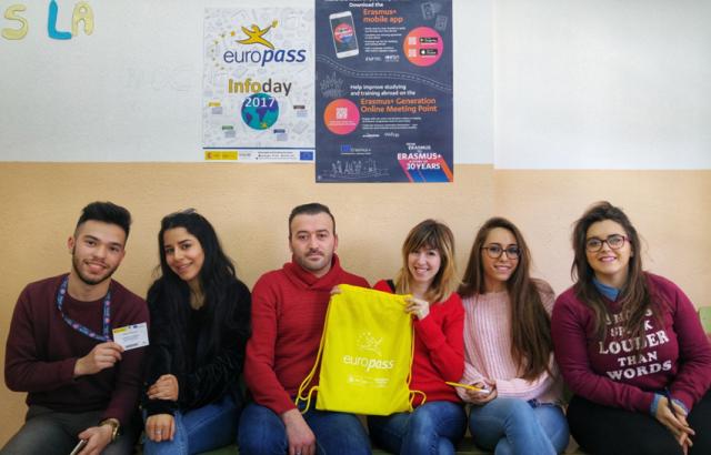 Alumnos del IES Federico García Lorca de Albacete inician sus prácticas formativas en empresas europeas
