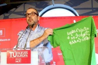 Alberto González (PSOE) ha anunciado su intención de asumir la dirección socialista tras la dimisión de Francisco Gómez
