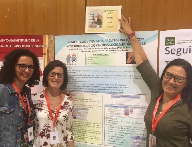 Profesionales del Hospital de Almansa obtienen el premio al mejor póster en el V congreso nacional de administrativos de la salud
