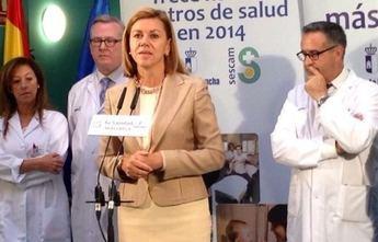 La presidenta regional inaugura en Albacete el centro de salud Zona V
