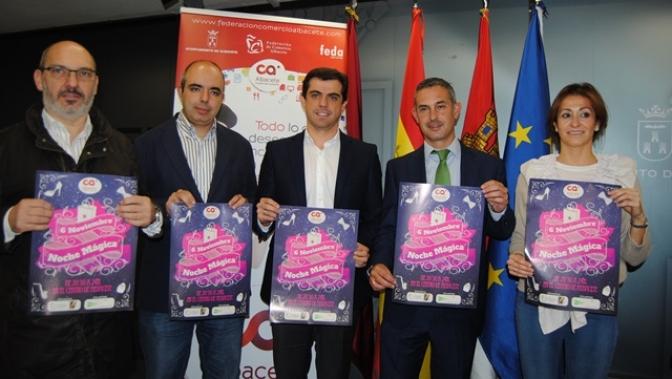 El comercio de Albacete se viste de gala para la novena edición de la 'Noche Mágica'