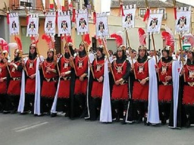 La ofrenda de Flores a la Virgen de Belén, momento importante de las Fiestas Mayores de Almansa