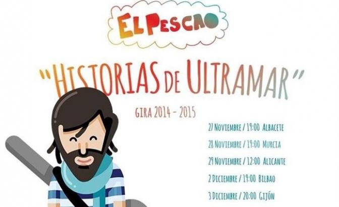 El Pescao inicia este jueves en Albacete una gira íntima por librerías y cafeterías