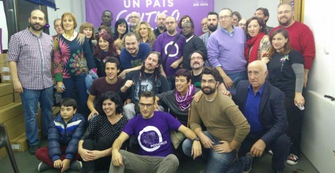 Podemos Albacete inaugura su sede para la campaña electoral