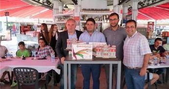El vicepresidente Constantino Berruga pone en valor el éxito de las catas comentadas desarrolladas durante la Feria de Albacete 2014