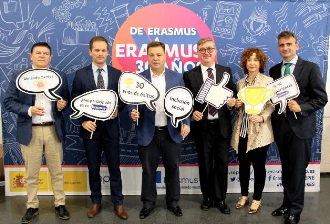 Erasmus, 30 años de educación, una oportunidad en Albacete de crecer en lo personal