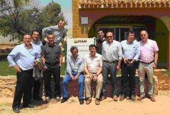 Las empresas españolas de los sectores maltero y cervecero  se interesan por los campos de ensayo de variedades de cebada del ITAP