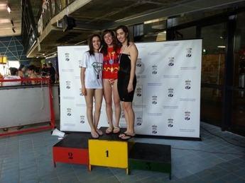 Cuatro campeones regionales del Club Polideportivo La Roda en el Campeonato Máster de Natación