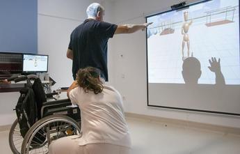 La Unidad de Daño Cerebral del Instituto de Enfermedades Neurológicas de Castilla-La Mancha incorpora realidad virtual para la rehabilitación