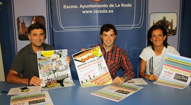 Presentadas las III Jornadas del Deporte de La Roda, que se celebran del 22 al 28 de septiembre