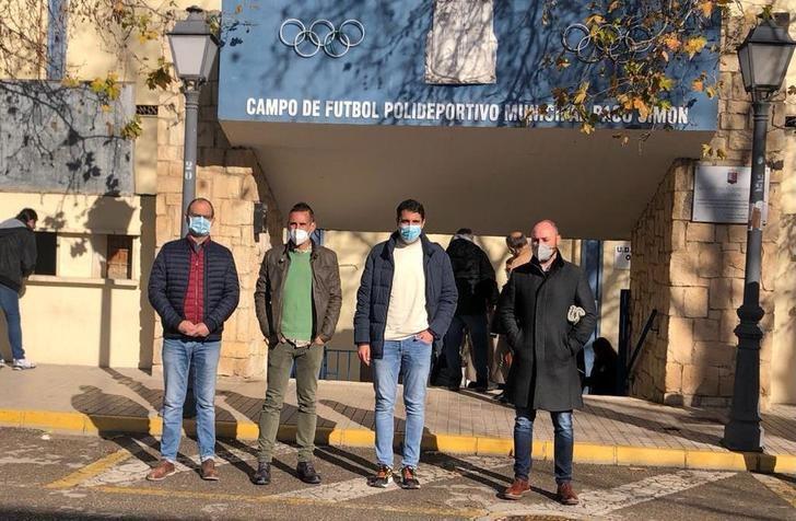 El estadio Paco Simón de Almansa mejora la accesibilidad para personas con movilidad reducida