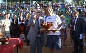 David Ferrer, campeón en Albacete en el año 2005.