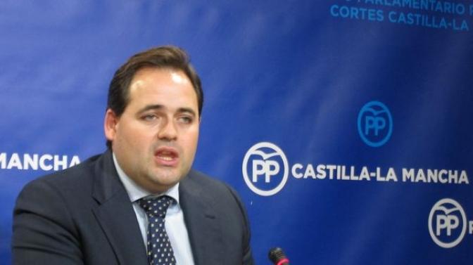 """Francisco Núñez (PP) dice que el PSOE de Castilla-La Mancha es un partido de """"dos cuñados y dos hermanos"""""""