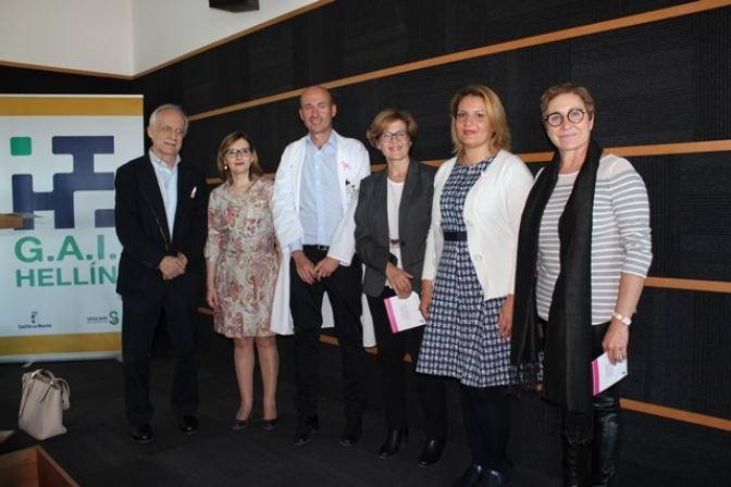 El Hospital de Hellín celebra la jornada sobre el proceso asistencial en pacientes con cáncer de mama