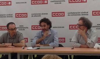 Sindicalistas de CCOO y profesores de Derecho del Trabajo debaten sobre la representatividad sindical en Europa