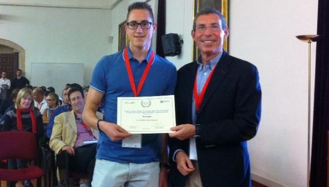 Francisco Javier Pérez, alumno de la Escuela de Informática de la UCLM, recibe un premio nacional al mejor trabajo fin de grado