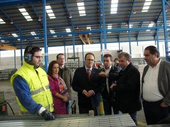 Visita institucional a empresas agrícolas de Barrax