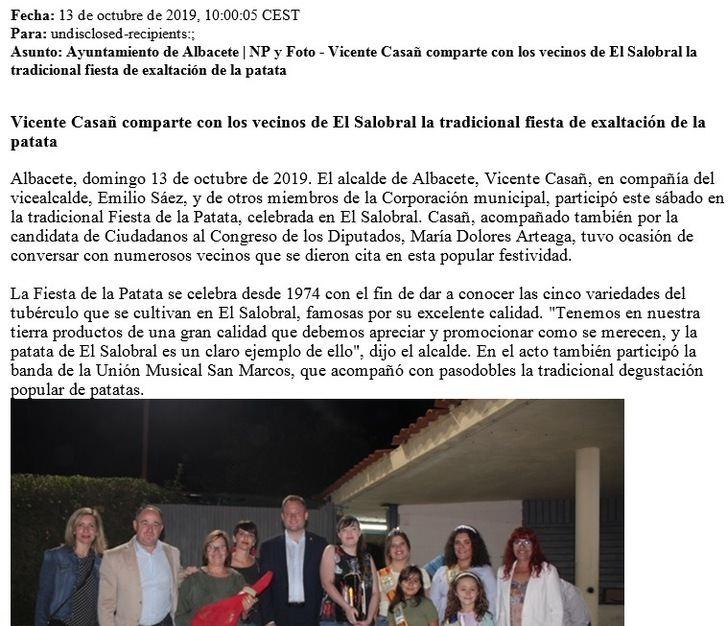 El PP acusa al equipo de Gobierno del Ayuntamiento de Albacete de uso partidista de los medios públicos