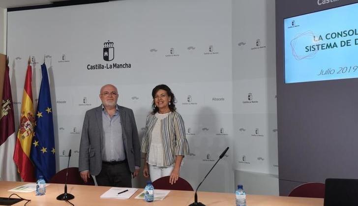 Castilla-La Mancha consolida la tendencia positiva de su sistema de dependencia, que llega en julio a los casi 61.000 beneficiarios