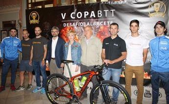 Casis 500 ciclistas participan en la V Copa BTT Desafío Albacete