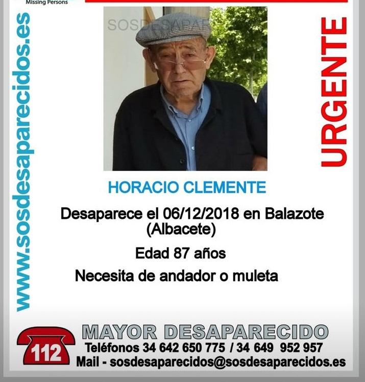 Intensifican la búsqueda del hombre de 87 años desparecido de la residencia de mayores de Balazote (Albacete)