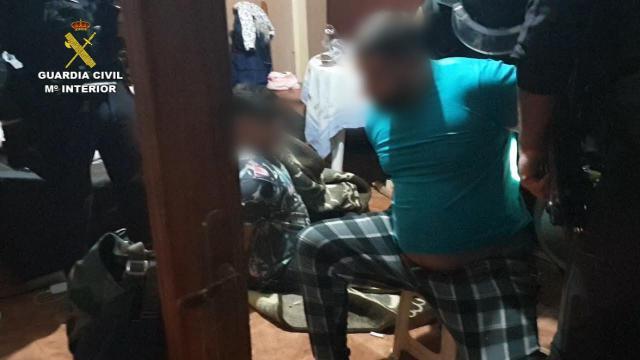 La Guardia Civil detiene a la banda que robaba con mucha violencia en Toledo