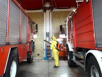 80.000 euros de la Diputación de Albacete para desinfectar diversos edificios municipales de la provincia