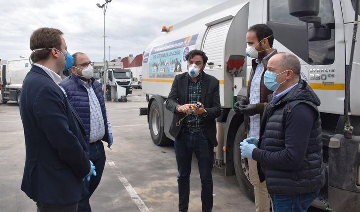 El Ayuntamiento de Albacete extiende a las urbanizaciones el servicio de desinfección