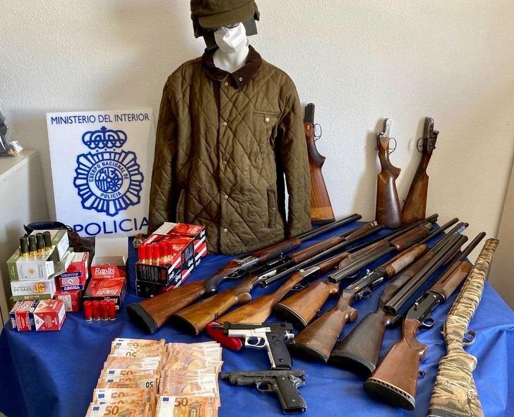 Detenido un ladrón que robaba bancos en Albacete y Murcia, con un botín de 170.000 euros