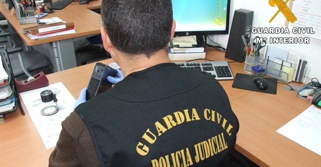 La Guardia Civil de Almansa detiene a varias personas por estafar a un vecino la localidad a través de Internet