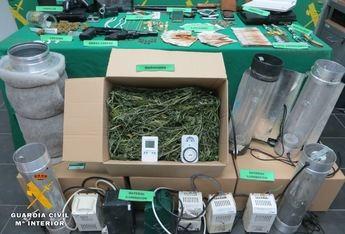 Siete detenidos por la Guardia Civil de Almansa por tráfico de drogas y secuestro de dos jóvenes en Alpera (Albacete)