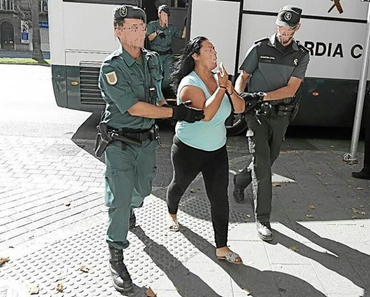 Eva María Crespo, la 'reina de la coca', detenida en Hellín (Albacete)