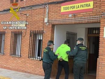 Detenido un joven de 26 años en Villacañas (Toledo) por asaltar a una menor de edad en la vía pública