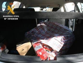 Dos detenidos por robar en un establecimiento de Cabañas de la Sagra (Toledo) y amenazar y golpear a su propietaria