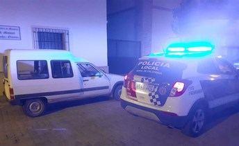 Detenidos cuatro jóvenes por el robo en el interior de vehículos en Moral de Calatrava
