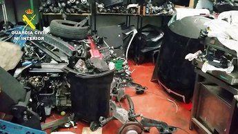 Imagen de archivo de robos en coches en Toledo.