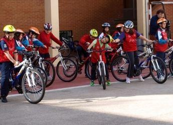 La Vuelta Ciclista a España ya ha comenzado algunas actividades para escolares en Albacete