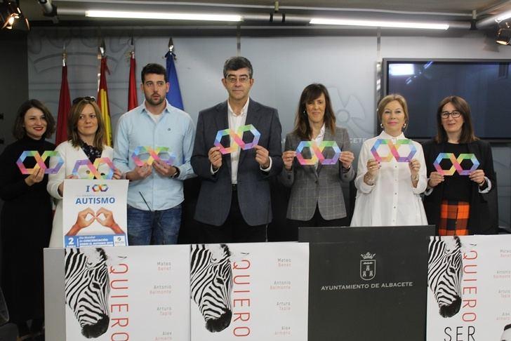 La provincia de Albacete se teñirá de azul con motivo del Día Mundial del Autismo