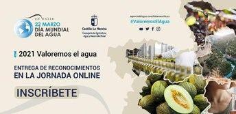 Castilla-La Mancha celebra el Día Mundial del Agua este lunes de manera virtual, bajo el lema 'Valoremos el agua'